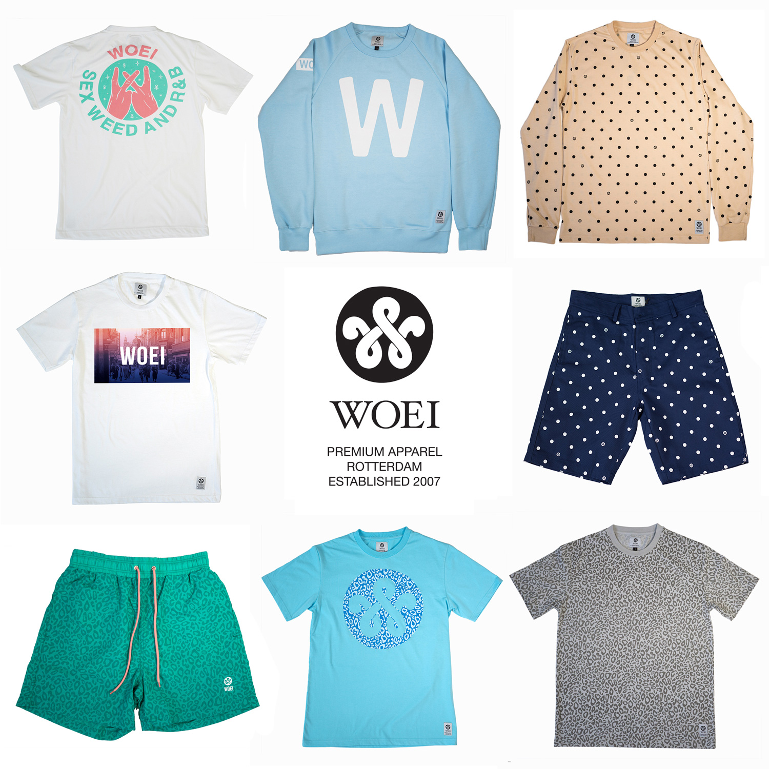 WOEI SPRING SUMMER COLLECTION 2014