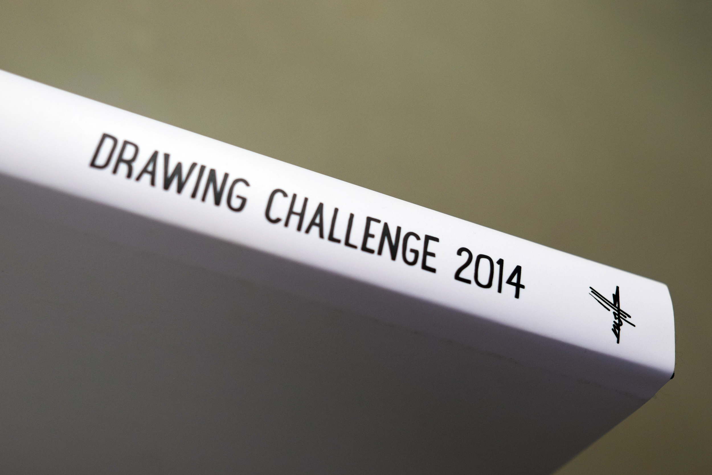 drawing challenge 2014 – book by kwills